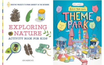 These 8 cool new kids' activity books are screen-free boredom busters for every interest