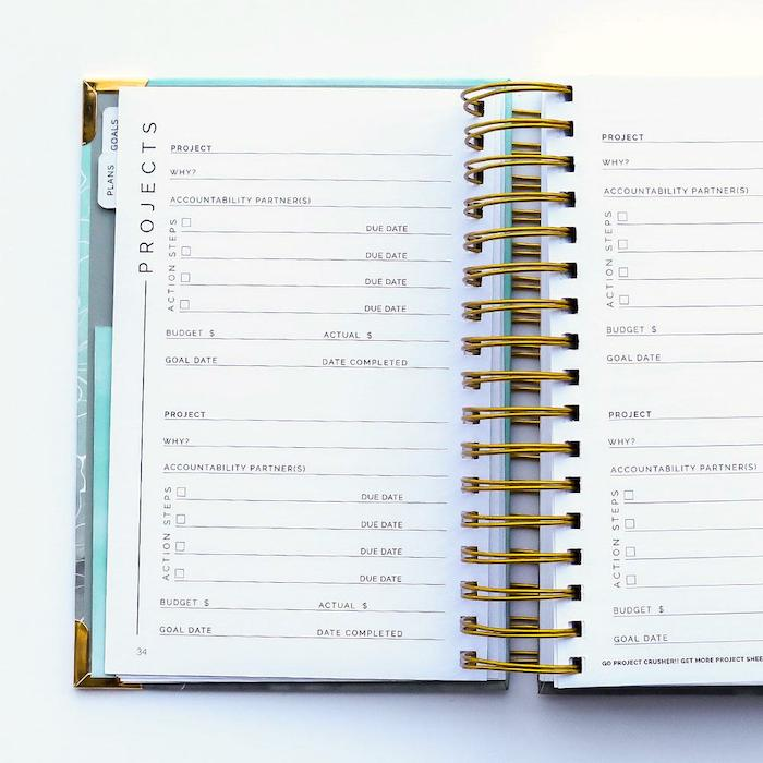 Best planners for moms: Hustle is the best goal-setting planner