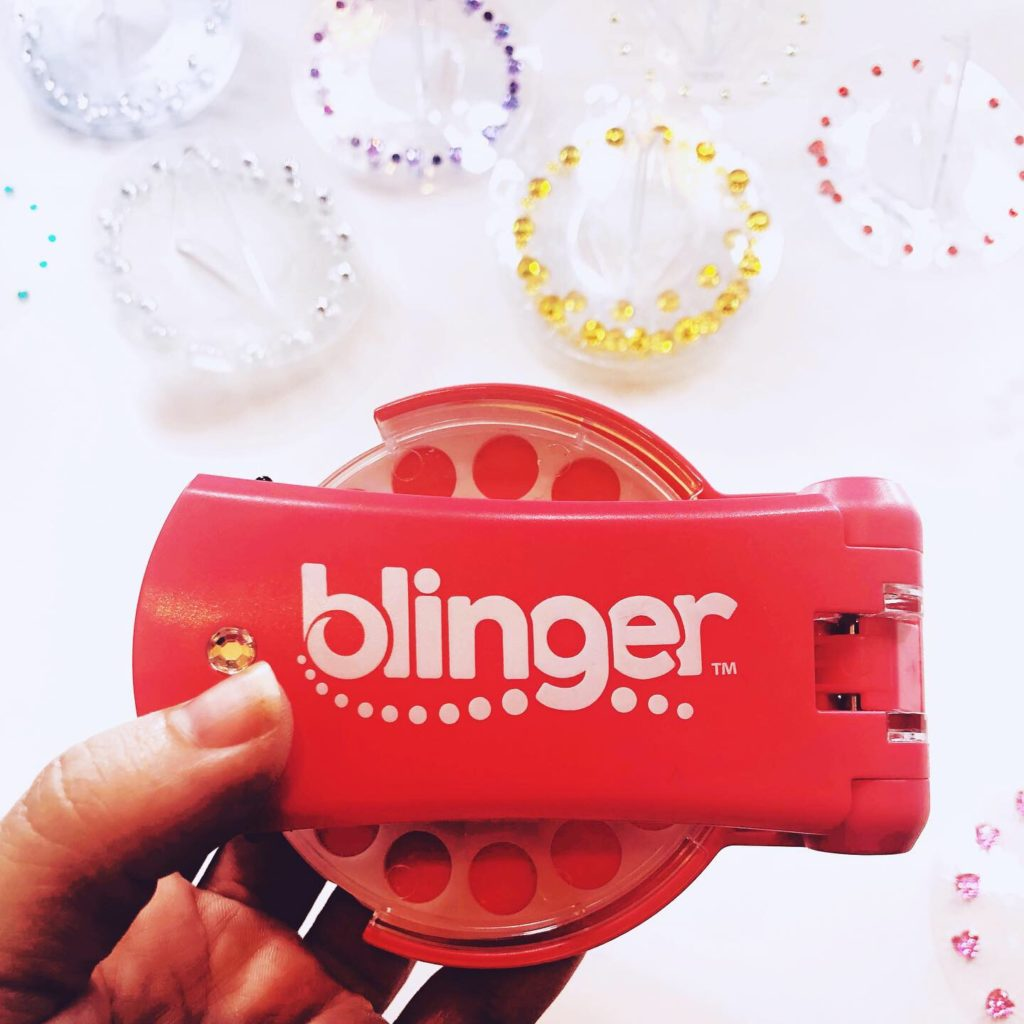 Blinger bedazzles your hair and will be a hot gift for kids this year!