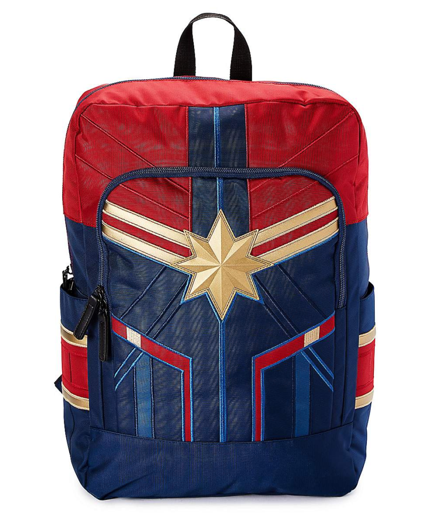 Captain Marvel backpack for kids | cool backpacks for grade school 2019 | coolmompicks.com