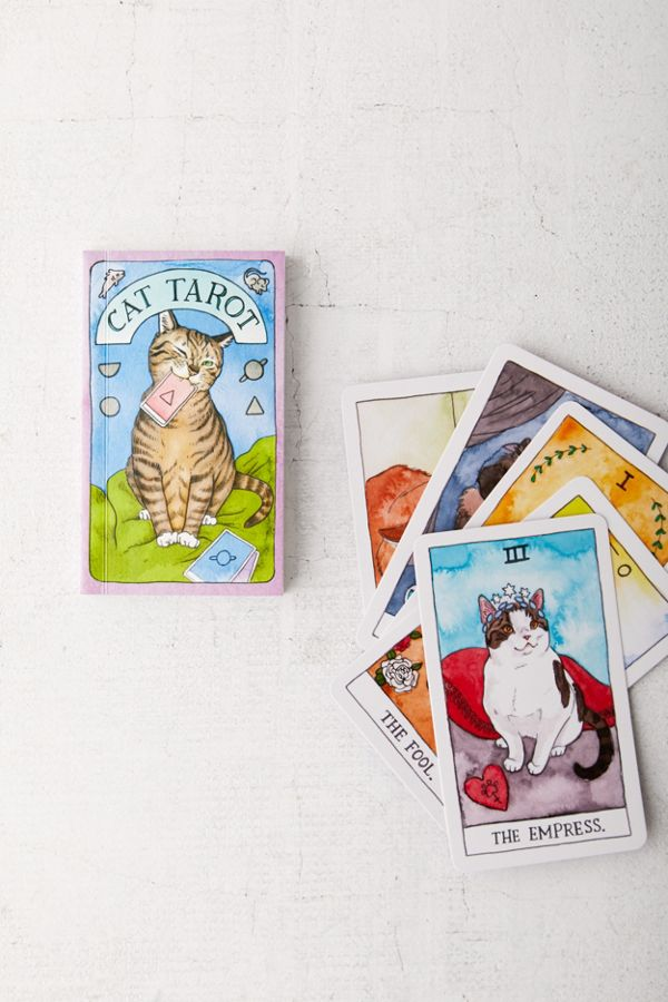 Cat Tarot deck | Coolest birthday gifts for teens