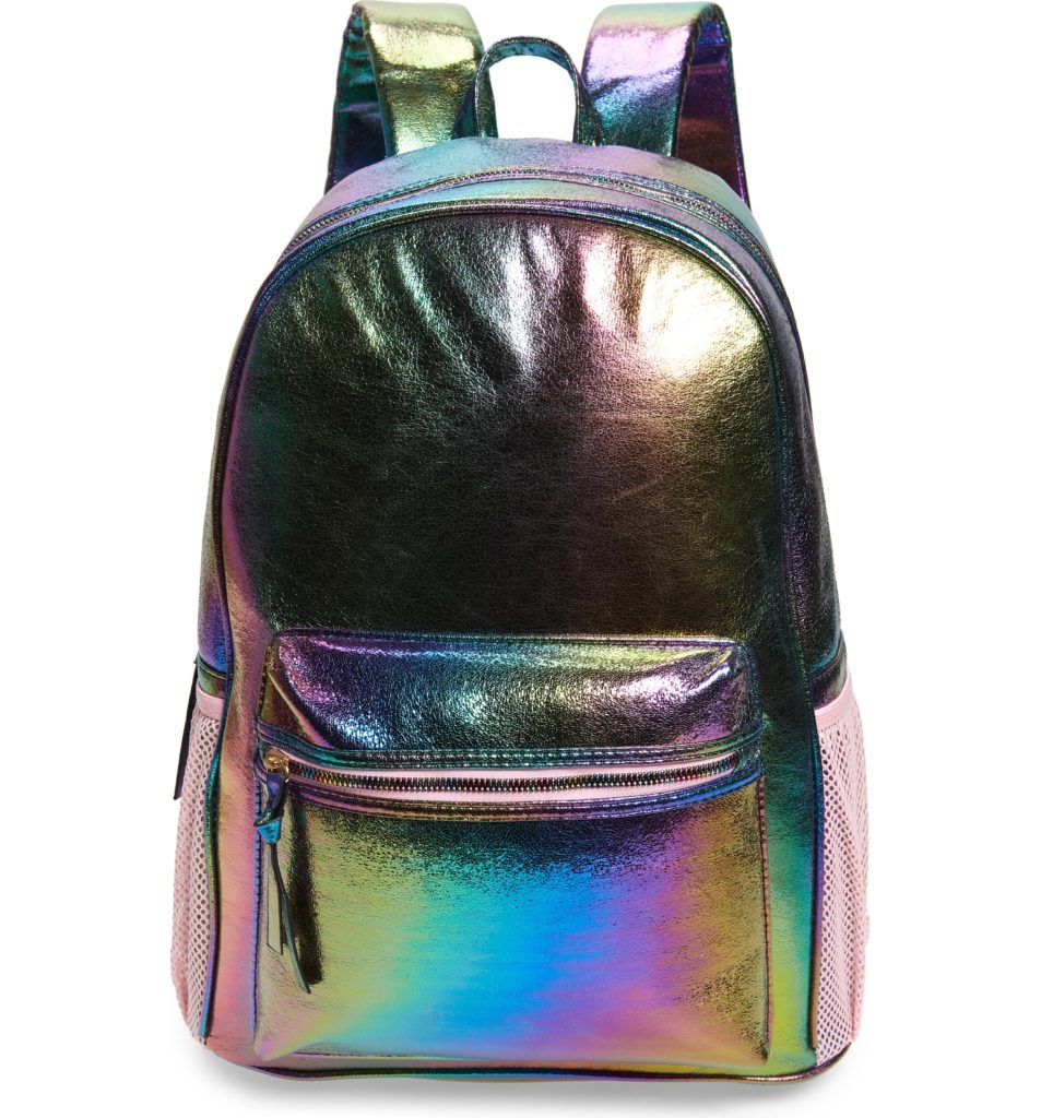 Cool backpacks for teenagers in 2019: Metallic Ombre Backpack