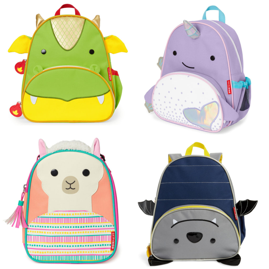 Coolest backpacks for preschool + Kindergarten: SkipHop's new Zoo Packs | Back to School 2019 Cool Mom Picks