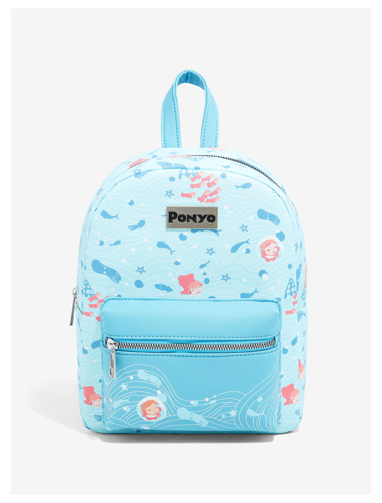 Cool backpacks for preschool and kindergarten: Ponyo at Hot Topic