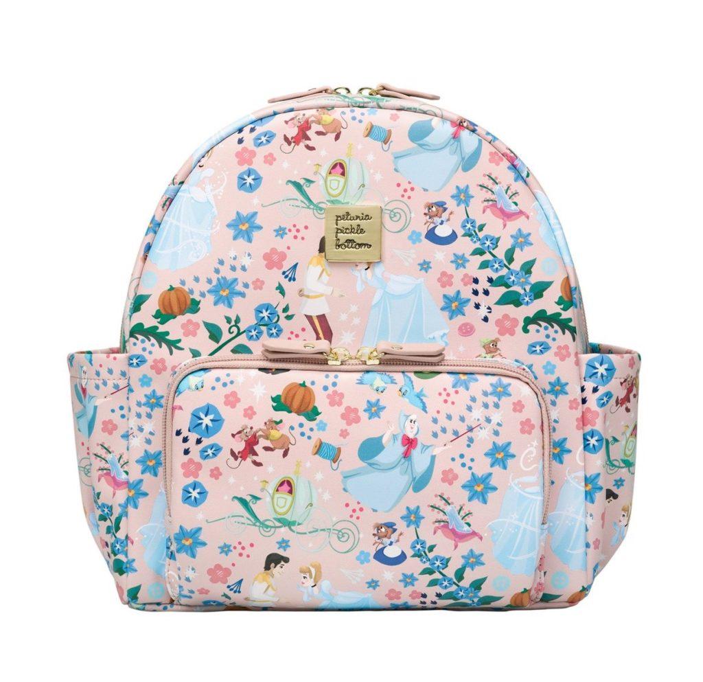 Cool backpacks for preschool and kindergarten: Cinderella mini backpack by Petunia Picklebottom
