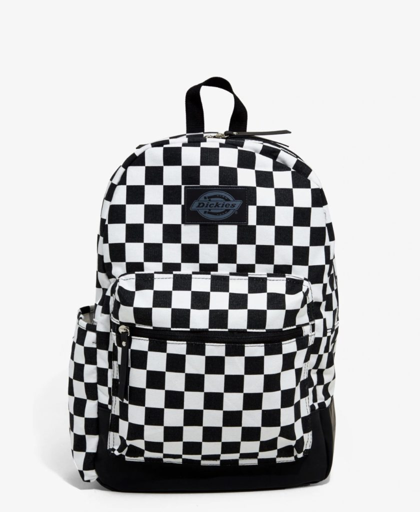Cool backpacks for teenager in 2019s: Dickies checkerboard backpack