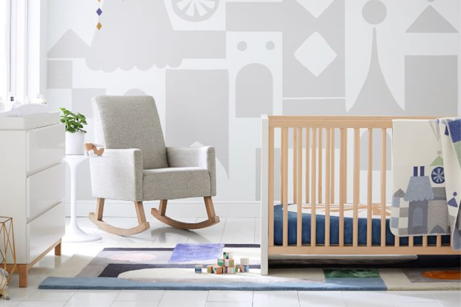 Take a look at the brand new It's a Small World baby collection. (And sorry for the earworm.)