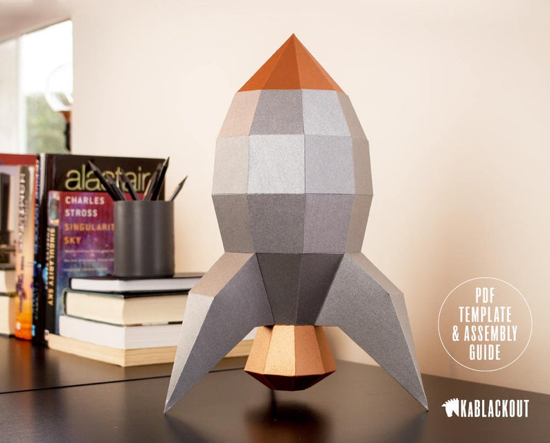 This Amazing DIY Rocket Craft Is Perfect For Kids Now