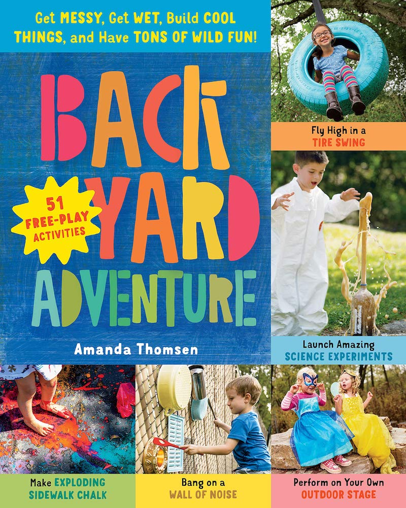 Kids activity books for summer: Backyard Adventure by Amanda Thompson