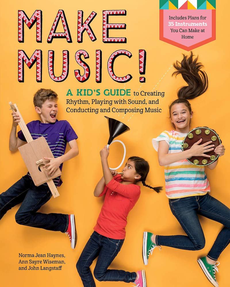 Kids' activity books for summer: Make Music!