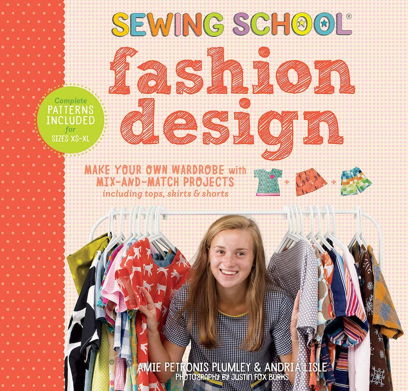 Kids' activity books for summer: Sewing School: Fashion Design