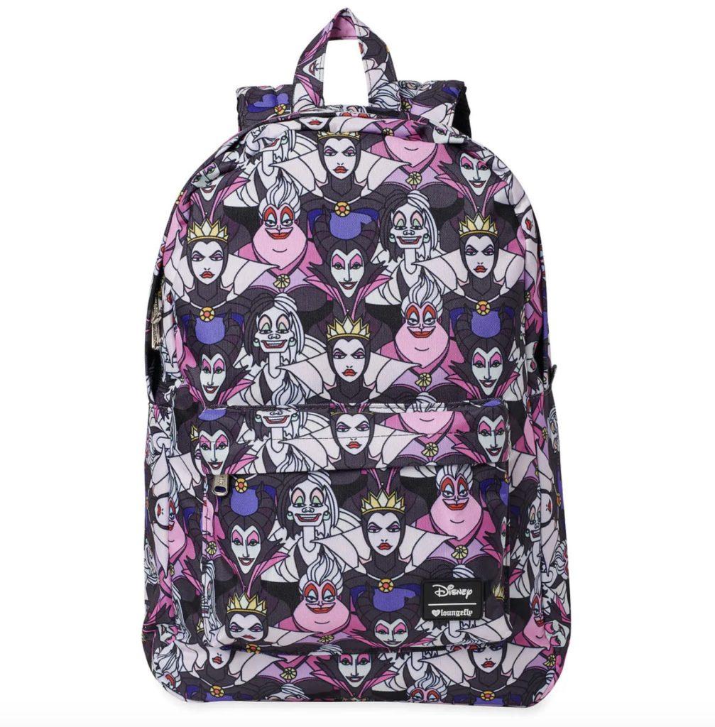 Loungefly Disney villains backpack | cool backpacks for grade school 2019 | coolmompicks.com