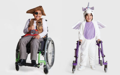 We're cheering for Target's new adaptive Halloween costume collection!
