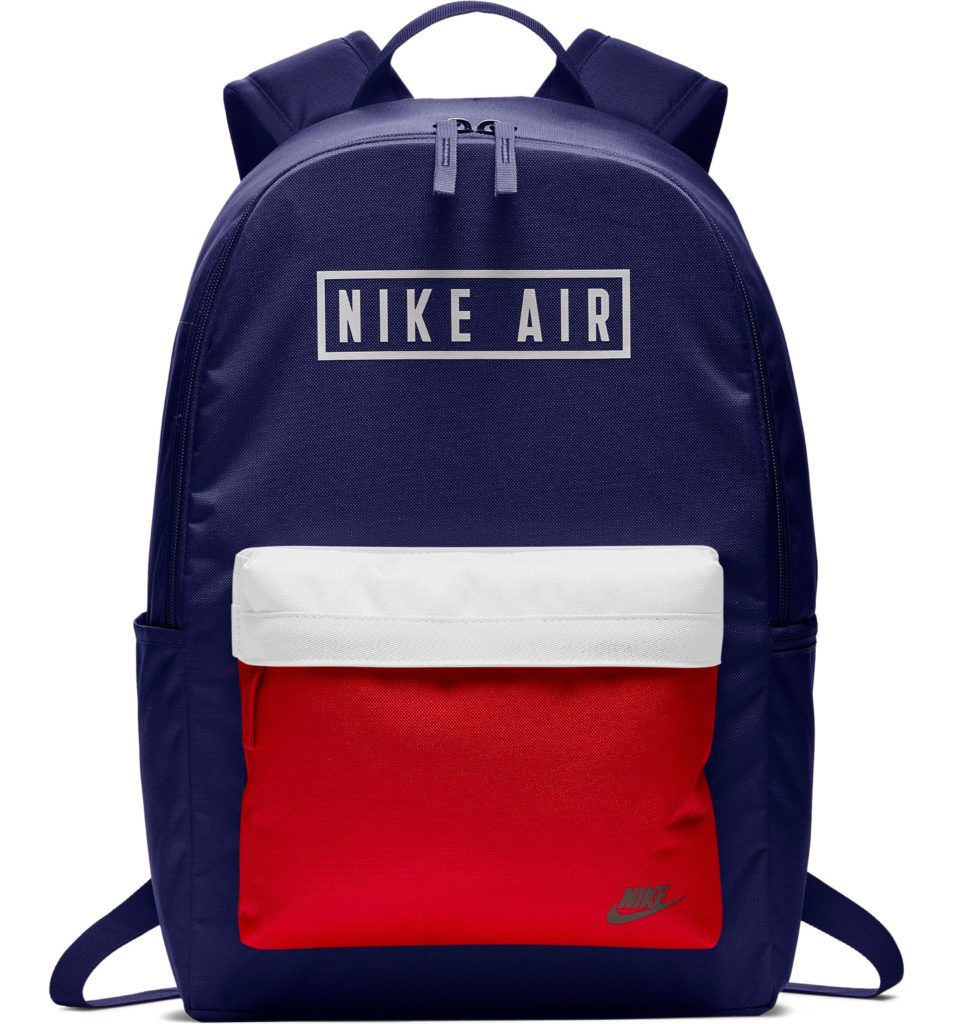 Coolest backpacks for grade school: Nike Air heritage backpack | Back to school guide 2019 Cool Mom Picks