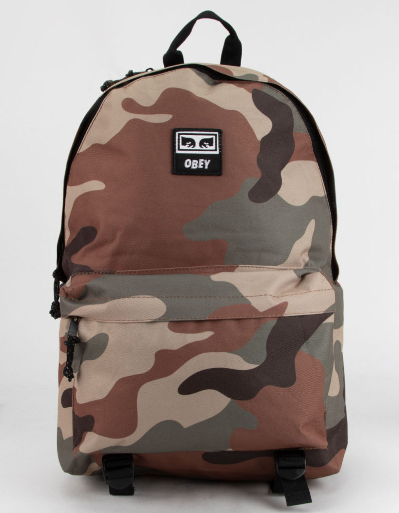 Obey camo backpack: Cool backpacks for teens