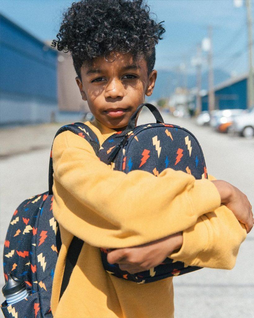 Coolest backpacks for grade school: Parkland lightning backpack | Back to school guide 2019 Cool Mom Picks