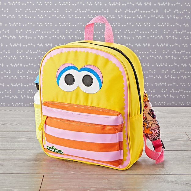 Coolest preschool and kindergarten backpacks: Big Bird | Back to school guide 2019