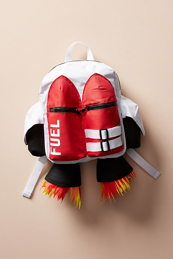 Coolest backpacks for preschool + Kindergarten: Spaceship Backpack at Anthropologie | Back to School 2019 Cool Mom Picks