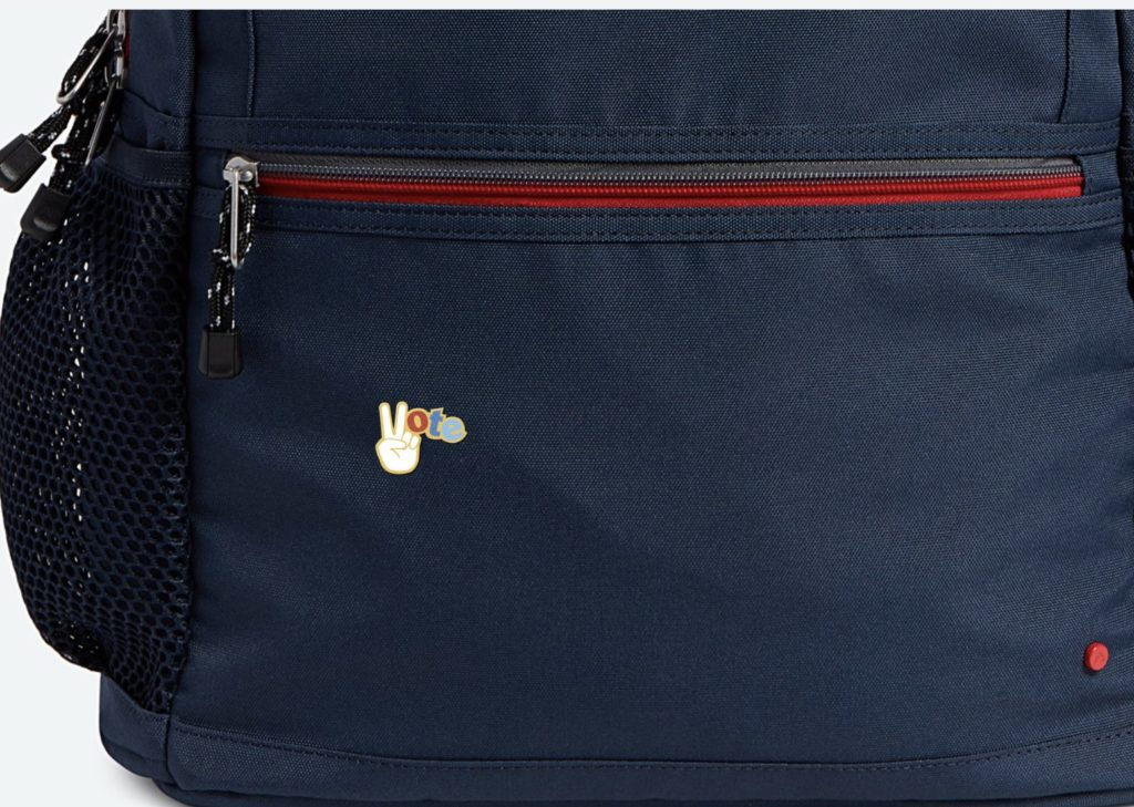 State Bags popular Kane Backpack can be customized with text, an icon or a patch
