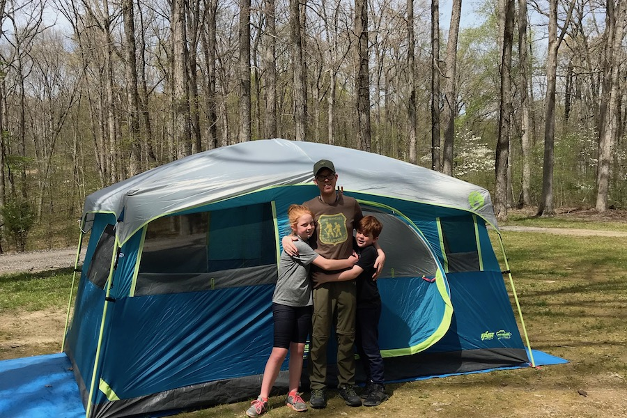 Tips for your first backyard campout with the kids | Photo © Kate Etue for Cool Mom Picks