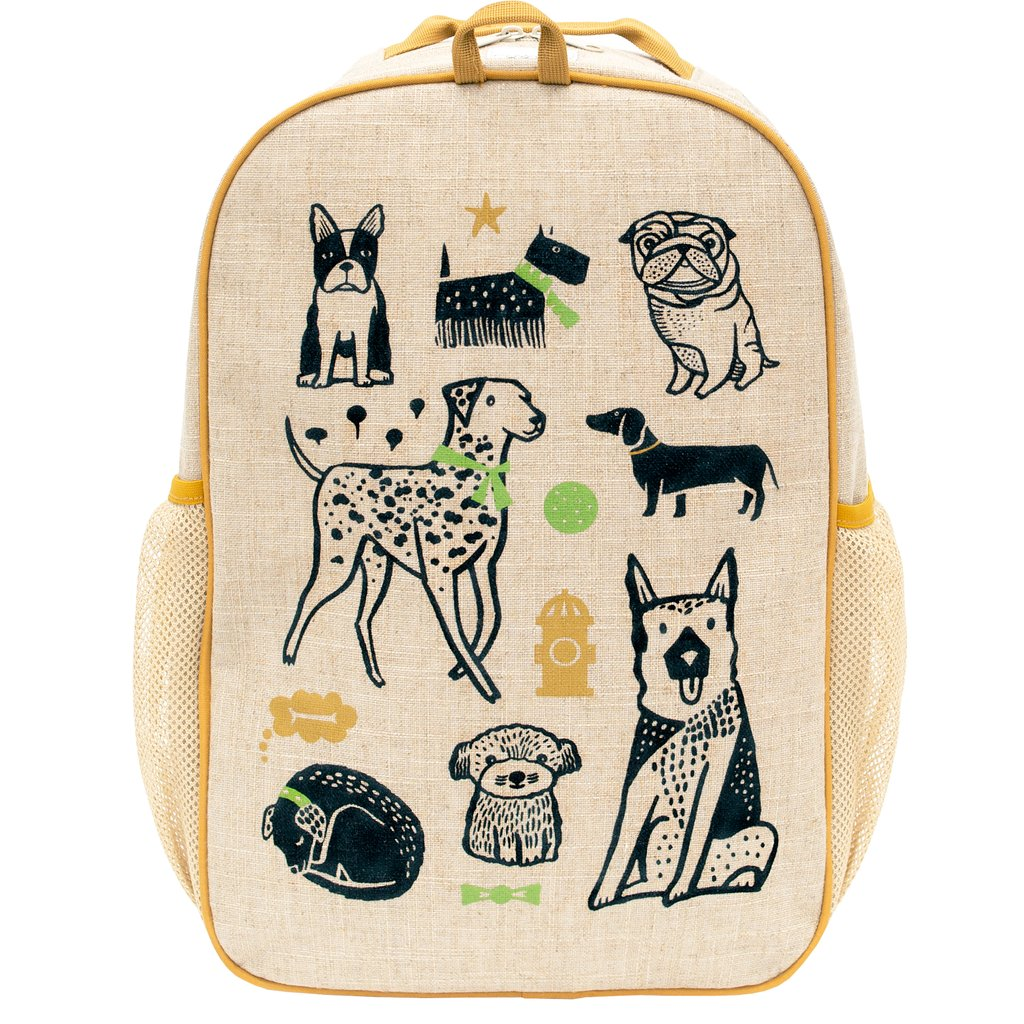 Coolest backpacks for grade school: Wee Gallery doggie design for SoYoung | Back to school guide 2019 Cool Mom Picks