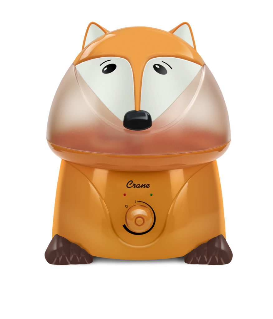 Best baby shower gifts under $50: Fox humidifier by Crane | Cool Mom Picks Baby Shower Gift Guide
