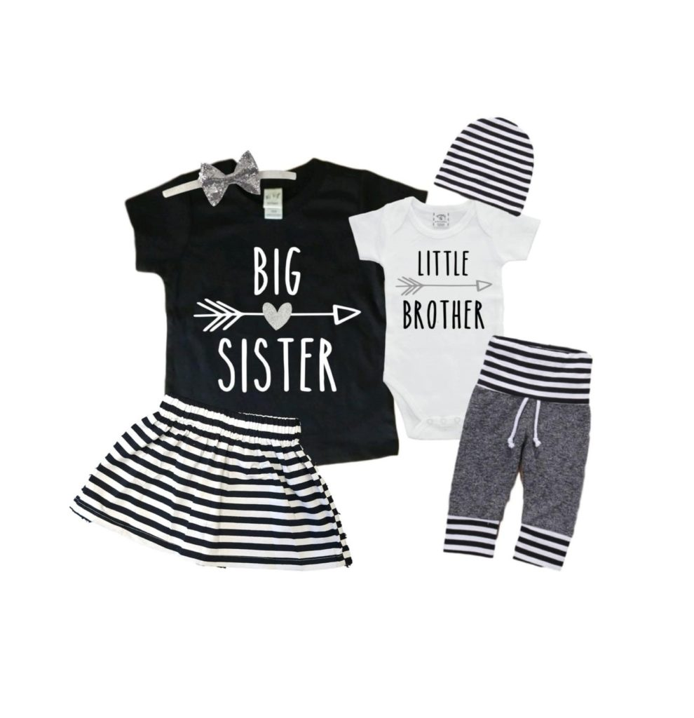 Best baby shower gifts under $50: Big/little sibling gift set | Cool Mom Picks Baby Shower Gift Guide