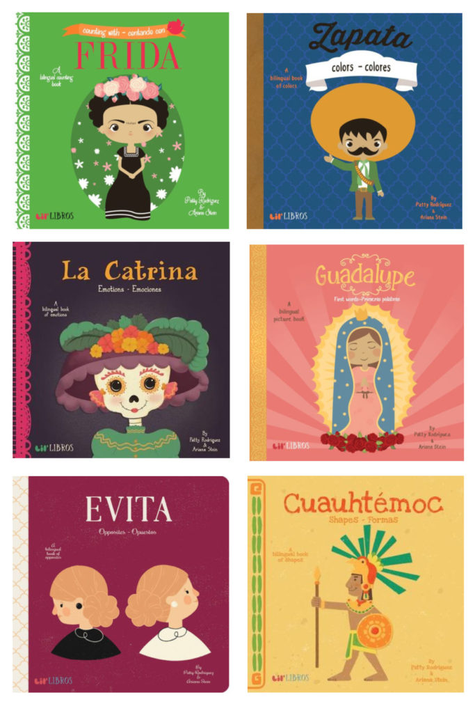 Best baby shower gifts under $50: Bilingual Spanish-English board book library by Patty Rodriguez | Cool Mom Picks Baby Shower Gift Guide