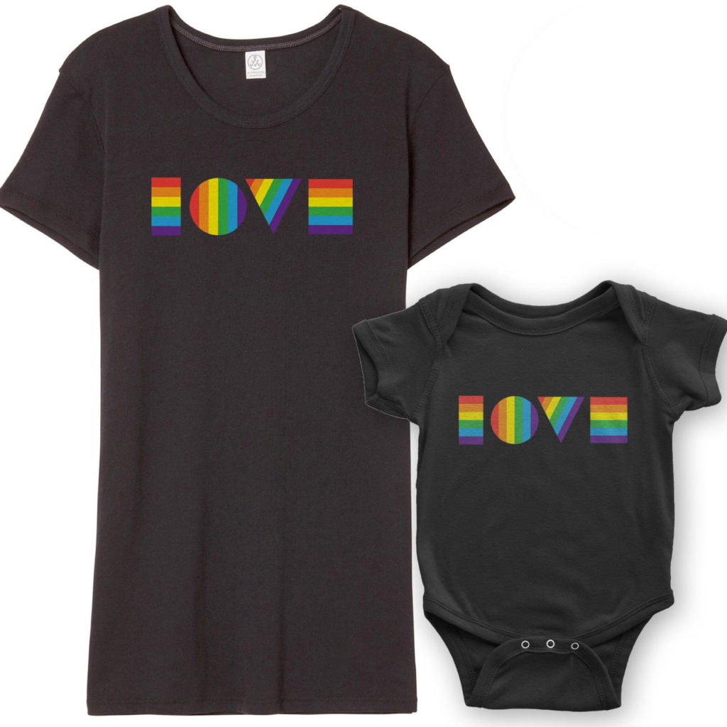 Best baby shower gifts under $50: LGBTQ love baby gift set| Cool Mom Picks Baby Shower Gift Guide