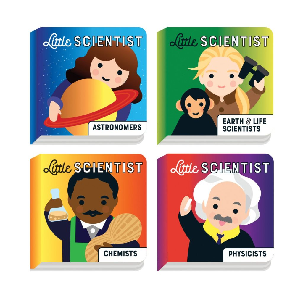 Best baby shower gifts under $15: Little Scientist board book set | Cool Mom Picks Baby Shower Gift Guide