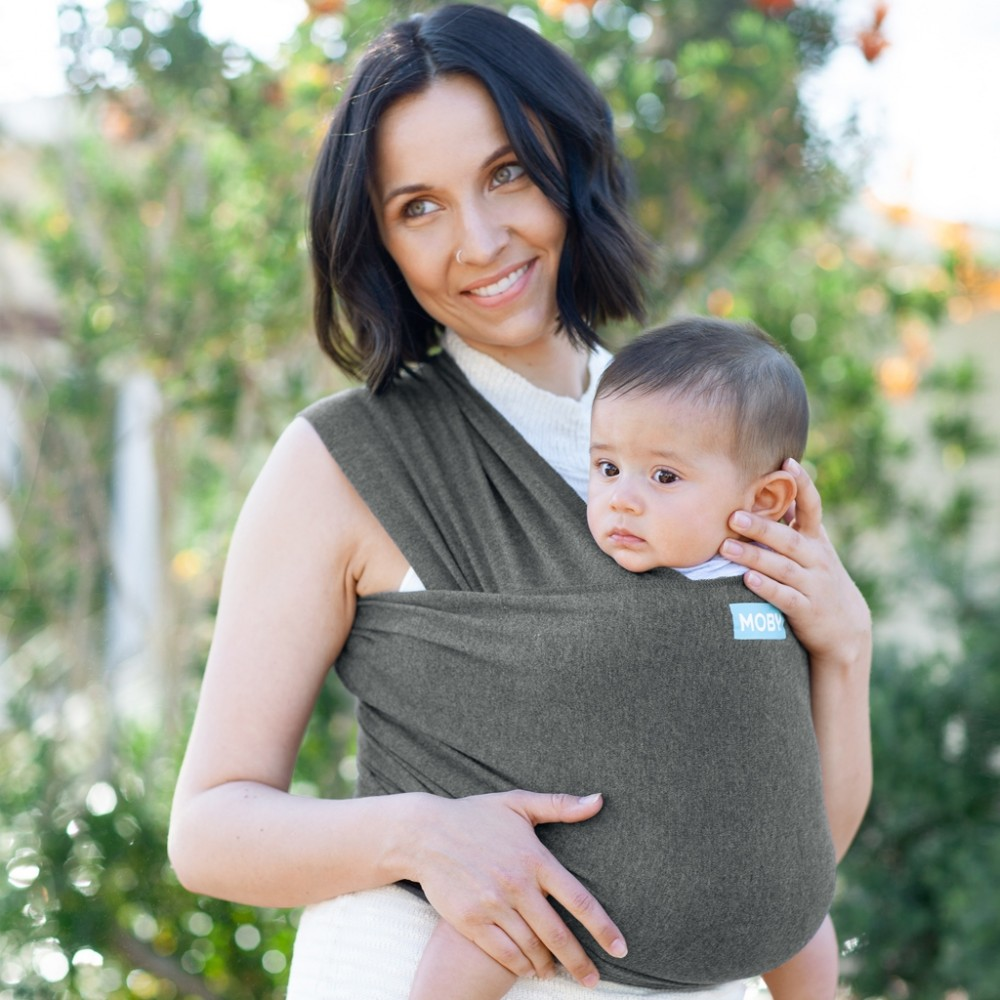 Best baby shower gifts under $50: Moby wrap evolution | Cool Mom Picks Baby Shower Gift Guide