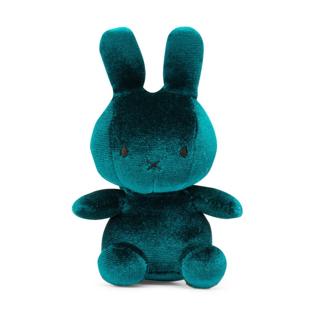 Best baby shower gifts under $15: Teal velvet plush Miffy doll