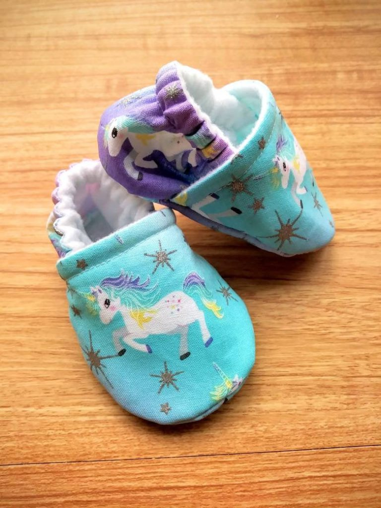 Best baby shower gifts under $15: Handmade unicorn baby shoes | Cool Mom Picks Baby Shower Gift Guide