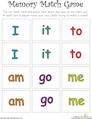 photo regarding Sight Words for Kindergarten Printable named Cost-free printables for kindergarten: Sight term guidance, 12 methods