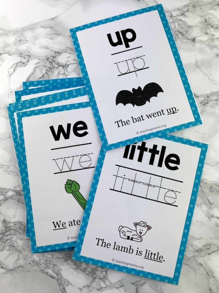 photograph about Free Printable Sight Word Flashcards called Free of charge printables for kindergarten: Sight phrase guidance, 12 practices