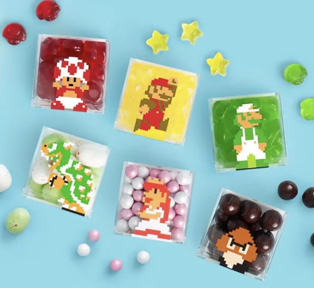 Sugarfina x Nintendo candy gift set