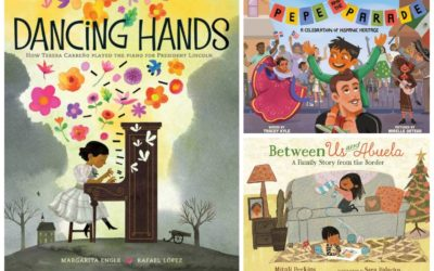 5 wonderful new books for kids celebrating Hispanic Heritage Month. You'll love reading along too!