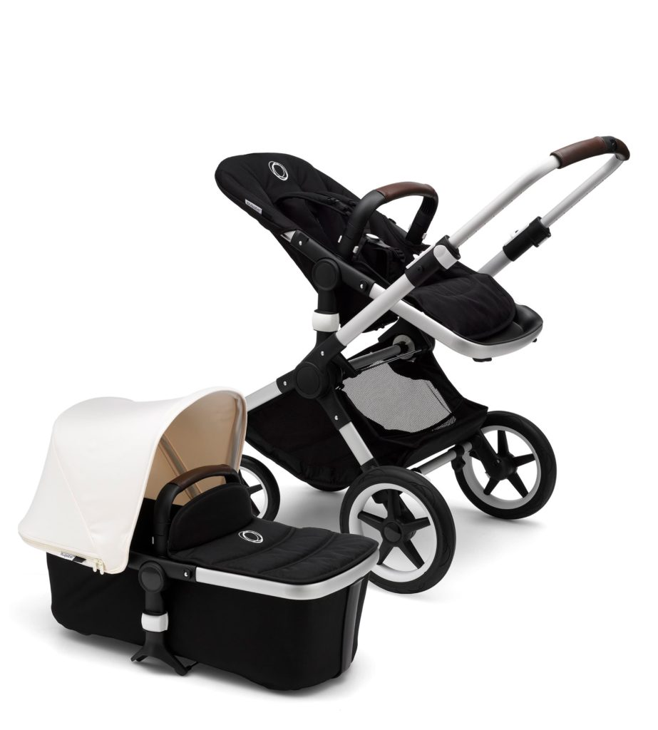 Bugaboo Fox stroller with basinet: The best luxury baby gifts and shower splurges
