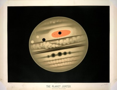 19th c astronomical drawings by Étienne Léopold Trouvelot: available through Art Pickings by Brain Pickings