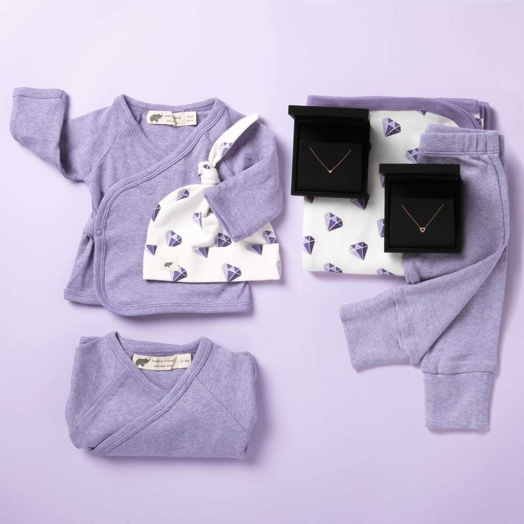 Dana Rebecca fine jewelry x Monica and Andy gift box for mom and baby: The best luxury baby gifts and shower splurges