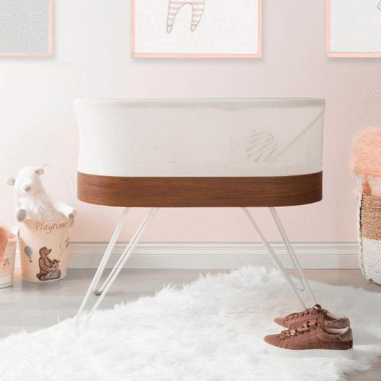 Snoo Smart sleeper designed by Dr. Harvey Karp: Luxury baby gifts and shower splurges