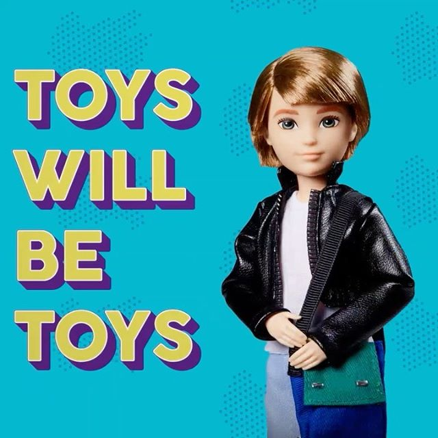 Mattel's new gender neutral doll kits. Because toys will be toys