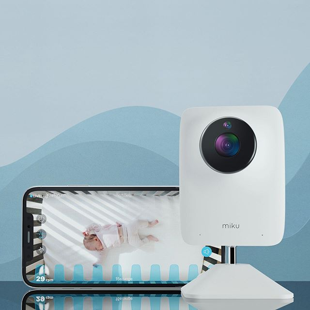 Miku Smart Baby Monitor tracks sleeping and breathing patterns wirelessly! | Best luxury baby gifts and shower splurges