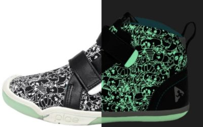 These new PLAE x Jasper Wong glow-in-the-dark sneakers are lit (ha)