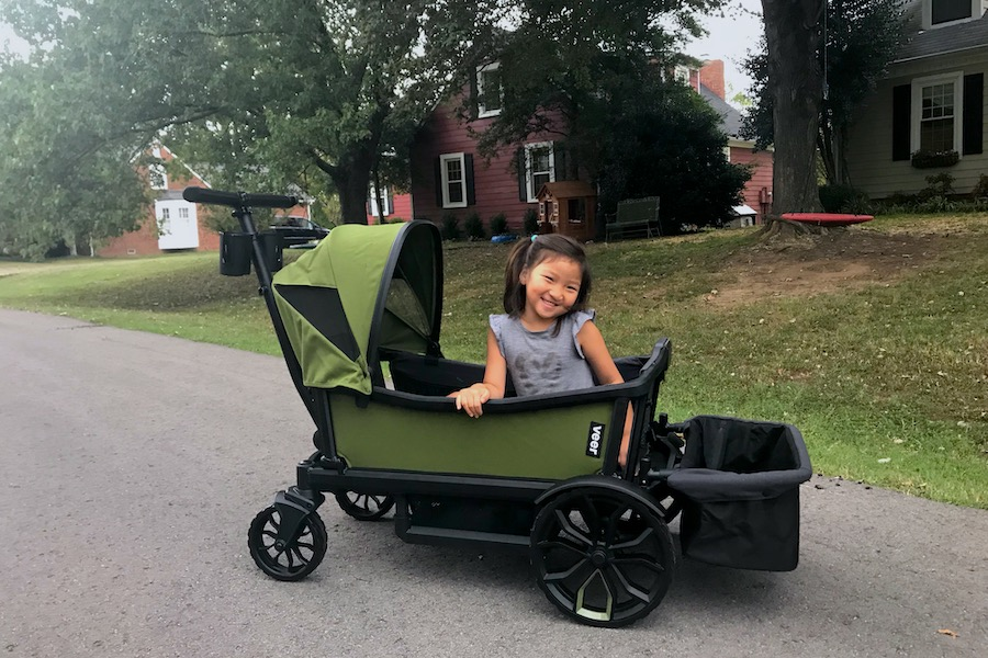 The absolute best wagon for families, from infant to big kid. And I've tried a lot of them.