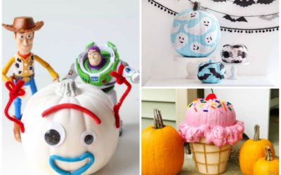 8 cute pumpkin decorating ideas for kids that are not scary at all