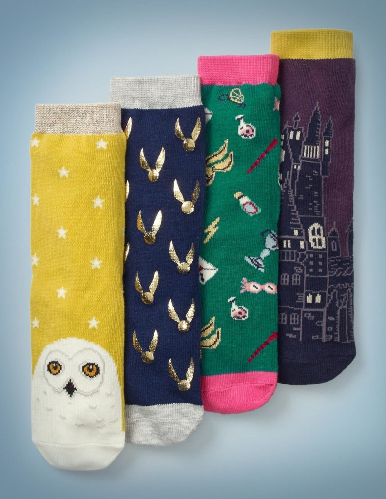 Harry Potter x Boden set of four socks