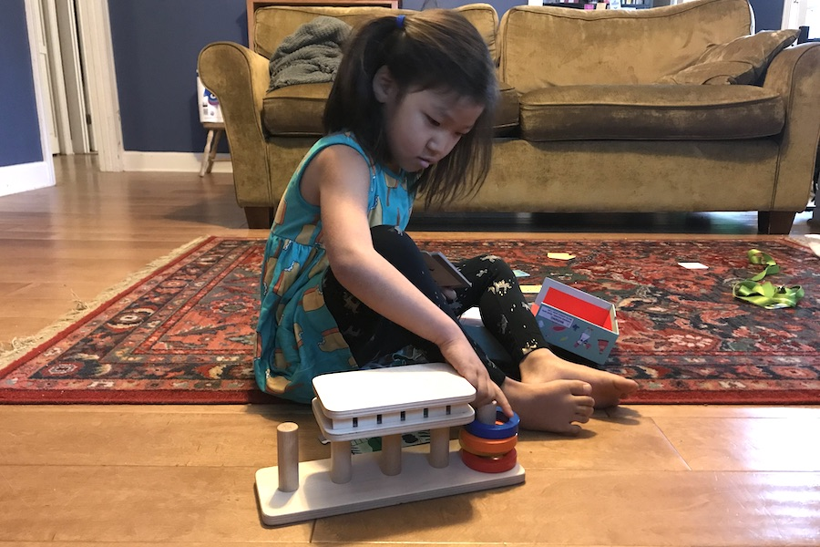 A special needs mom shares 4 great toys for kids with cognitive disabilities.
