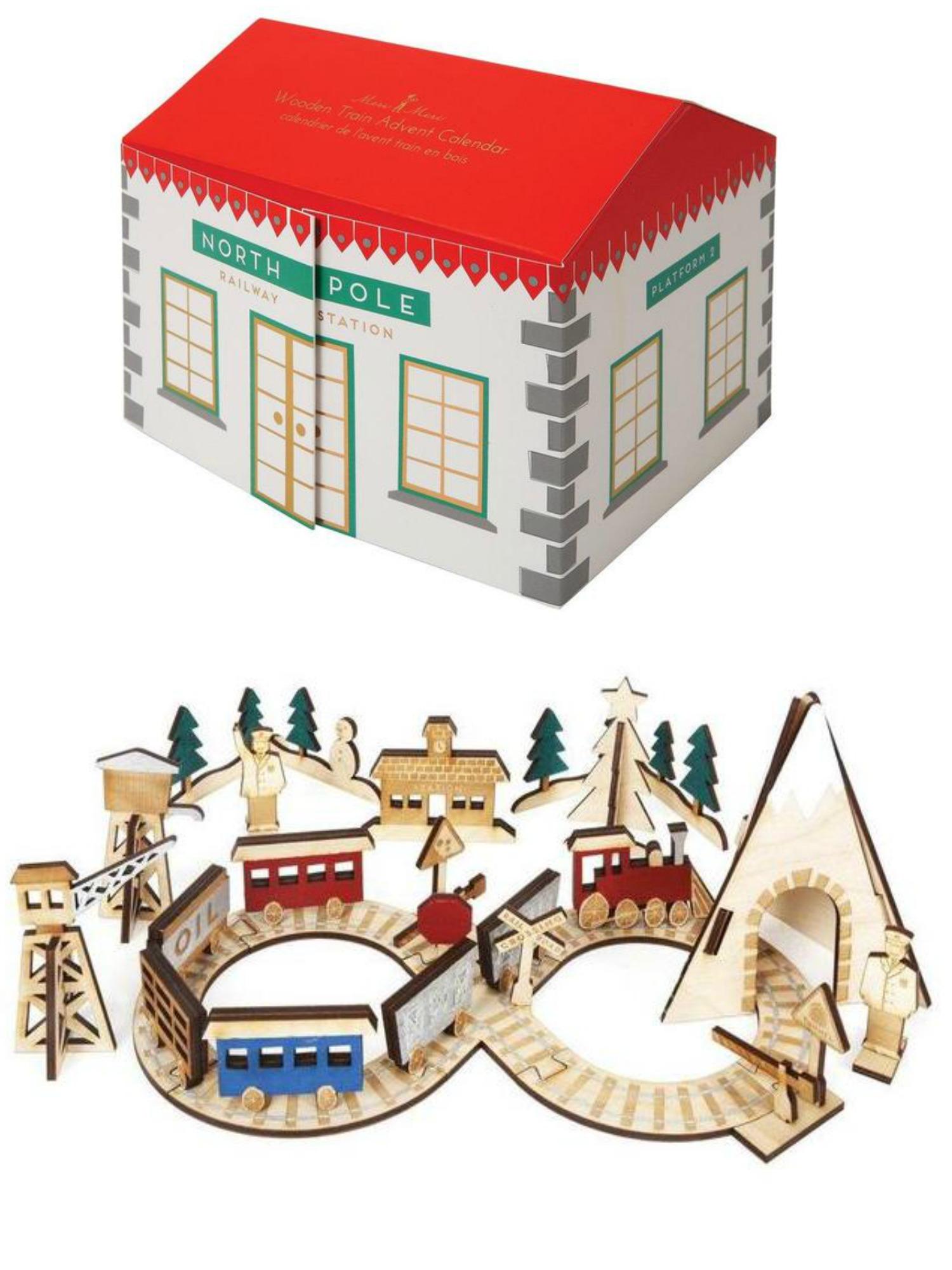 Coolest advent calendars | Meri Meri advent railway train