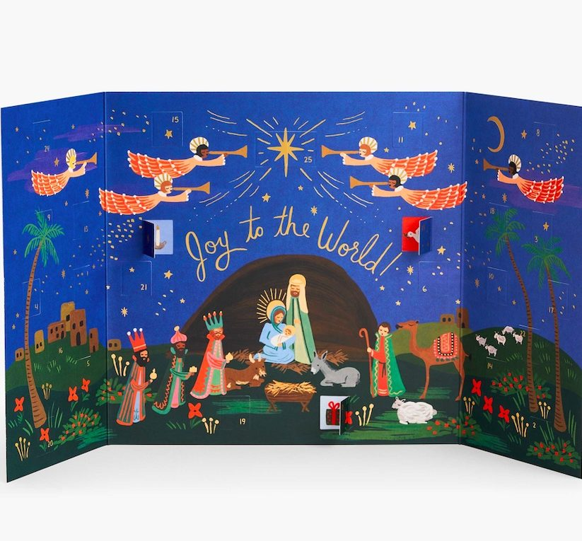 Coolest advent calendars | Rifle Paper Co. nativity